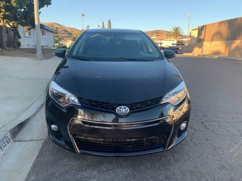 2014 Toyota Corolla for sale at Aria Auto Sales in El Cajon CA