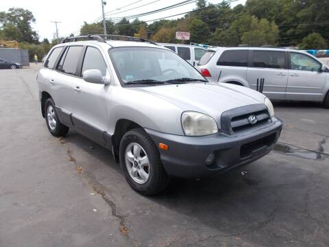 2006 Hyundai Santa Fe for sale at MATTESON MOTORS in Raynham MA