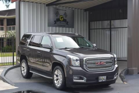 2016 GMC Yukon for sale at G MOTORS in Houston TX