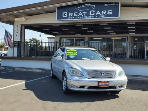 2006 Lexus LS 430 for sale at Great Cars in Sacramento CA