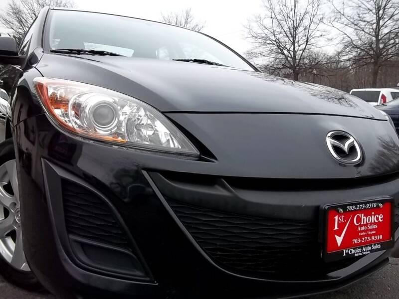 2011 Mazda MAZDA3 for sale at 1st Choice Auto Sales in Fairfax VA