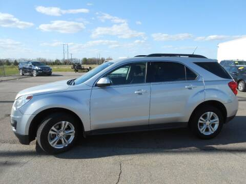2012 Chevrolet Equinox for sale at Salmon Automotive Inc. in Tracy MN