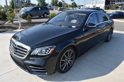 2020 Mercedes-Benz S-Class for sale at PHIL SMITH AUTOMOTIVE GROUP - MERCEDES BENZ OF FAYETTEVILLE in Fayetteville NC