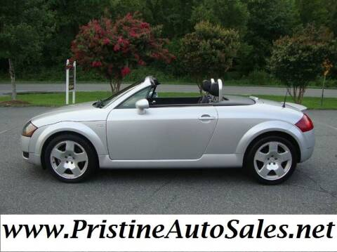 2002 Audi TT for sale at Pristine Auto Sales in Monroe NC