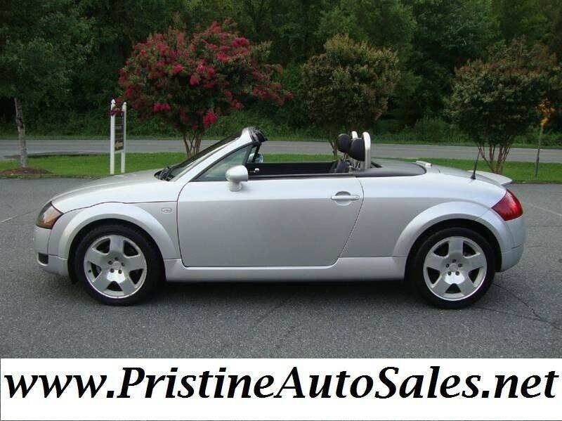 2002 Audi TT for sale at Pristine Auto Sales in Monroe NC