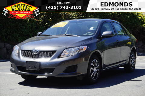 2010 Toyota Corolla for sale at West Coast Auto Works in Edmonds WA