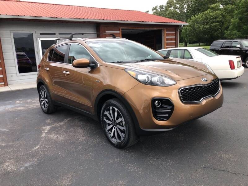 2017 Kia Sportage for sale at KNK AUTOMOTIVE in Erwin TN