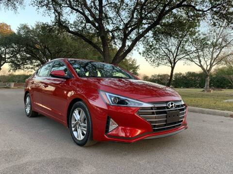 2019 Hyundai Elantra for sale at 210 Auto Center in San Antonio TX