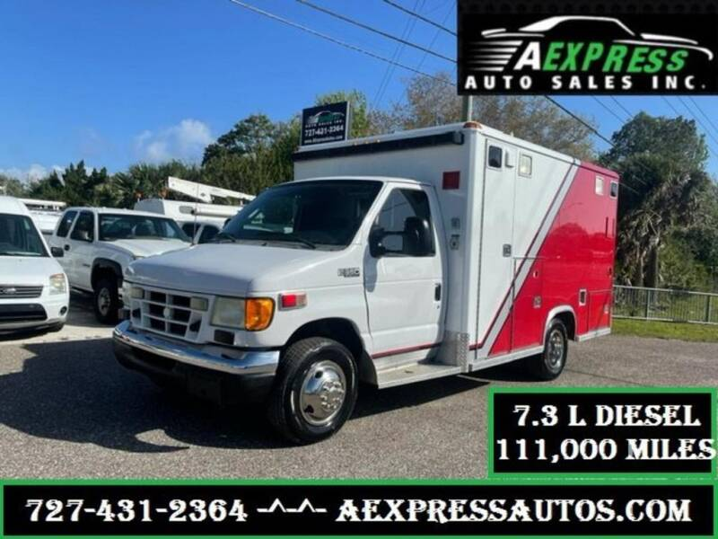 2003 Ford E-Series Chassis for sale at A EXPRESS AUTO SALES INC in Tarpon Springs FL
