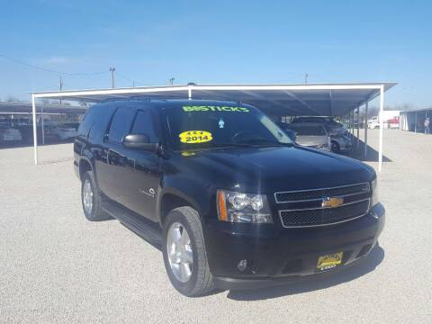 2014 Chevrolet Suburban for sale at Bostick's Auto & Truck Sales in Brownwood TX