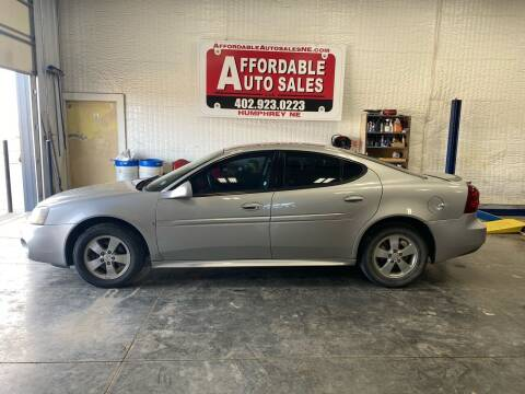2008 Pontiac Grand Prix for sale at Affordable Auto Sales in Humphrey NE