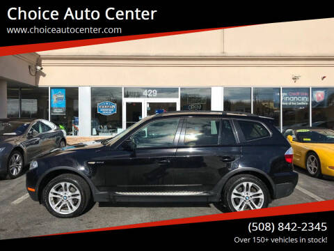 2008 BMW X3 for sale at Choice Auto Center in Shrewsbury MA