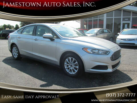 2015 Ford Fusion for sale at Jamestown Auto Sales, Inc. in Xenia OH