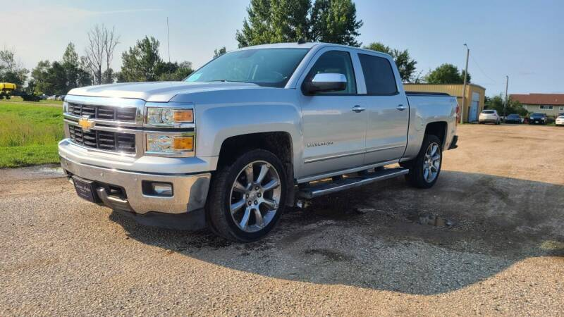 2014 Chevrolet Silverado 1500 for sale at Sinner Auto in Waubay SD