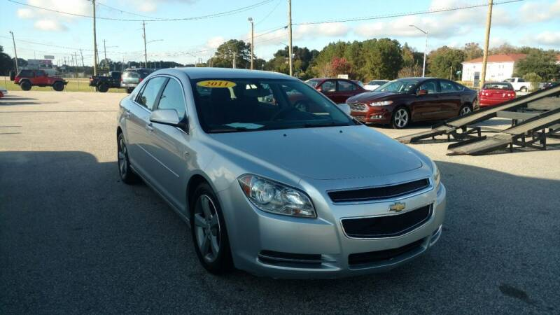 2011 Chevrolet Malibu for sale at Kelly & Kelly Supermarket of Cars in Fayetteville NC