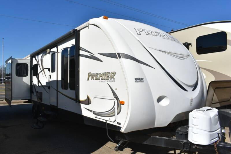 2014 Keystone Bullet Premier 29RL for sale at Buy Here Pay Here RV in Burleson TX