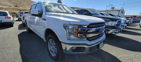 2018 Ford F-150 for sale at Guy Strohmeiers Auto Center in Lakeport CA