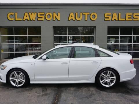 2016 Audi A6 for sale at Clawson Auto Sales in Clawson MI