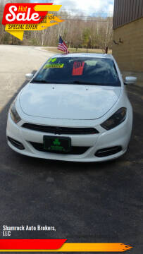 2014 Dodge Dart for sale at Shamrock Auto Brokers, LLC in Belmont NH