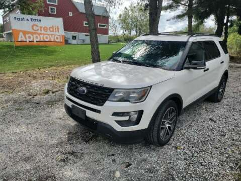 2016 Ford Explorer for sale at Caulfields Family Auto Sales in Bath PA