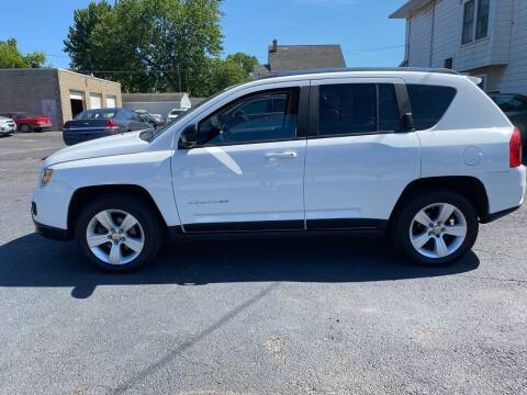 2011 Jeep Compass for sale at E & A Auto Sales in Warren OH