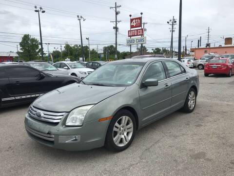 2008 Ford Fusion for sale at 4th Street Auto in Louisville KY