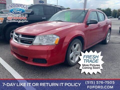 2013 Dodge Avenger for sale at Fort Dodge Ford Lincoln Toyota in Fort Dodge IA