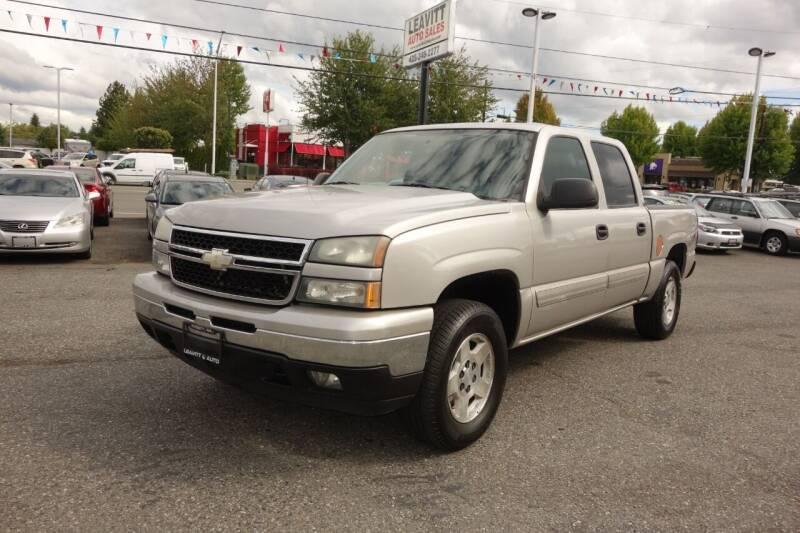 2007 Chevrolet Silverado 1500 Classic for sale at Leavitt Auto Sales and Used Car City in Everett WA