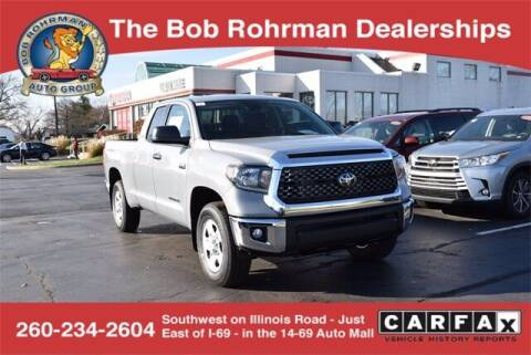 2021 Toyota Tundra for sale at BOB ROHRMAN FORT WAYNE TOYOTA in Fort Wayne IN