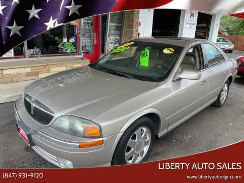 2002 Lincoln LS for sale at Liberty Auto Sales in Elgin IL