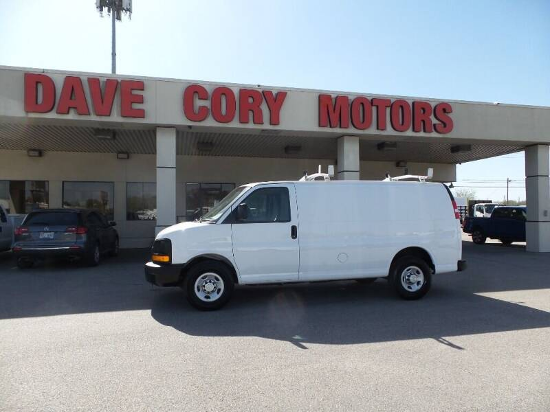 2015 Chevrolet Express Cargo for sale at DAVE CORY MOTORS in Houston TX