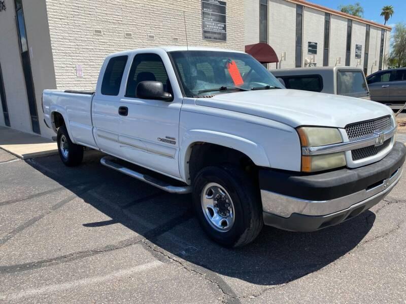 2003 Chevrolet Silverado 2500HD for sale at EV Auto Sales LLC in Sun City AZ