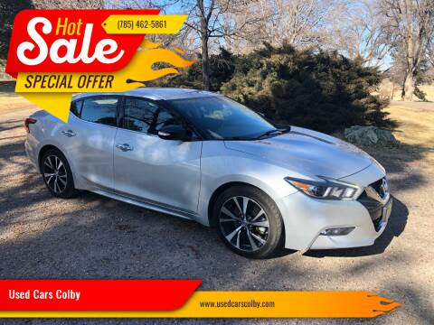 2018 Nissan Maxima for sale at Used Cars Colby in Colby KS