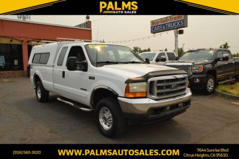 2001 Ford F-250 Super Duty for sale at Palms Auto Sales in Citrus Heights CA