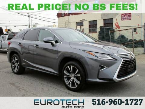 2017 Lexus RX 450h for sale at EUROTECH AUTO CORP in Island Park NY