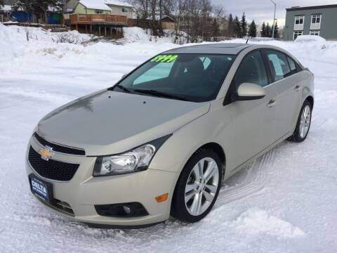 2013 Chevrolet Cruze for sale at Delta Car Connection LLC in Anchorage AK