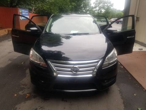 2014 Nissan Sentra for sale at Alfa Auto Sales in Raleigh NC