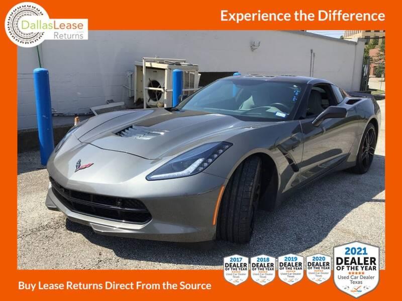 2016 Chevrolet Corvette for sale at Dallas Auto Finance in Dallas TX