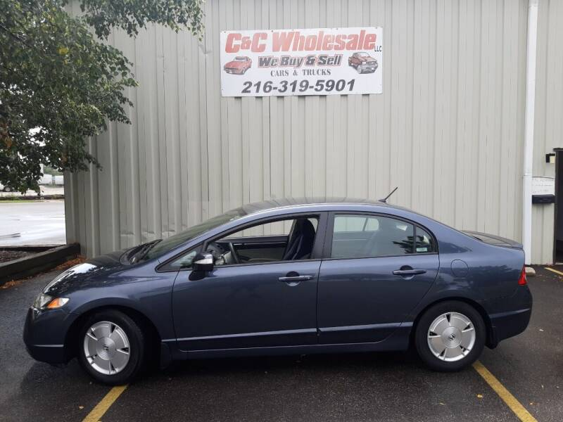 2008 Honda Civic for sale at C & C Wholesale in Cleveland OH