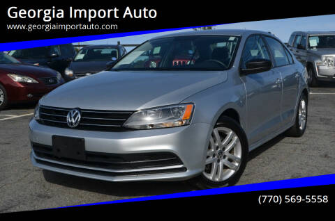 2015 Volkswagen Jetta for sale at Georgia Import Auto in Alpharetta GA