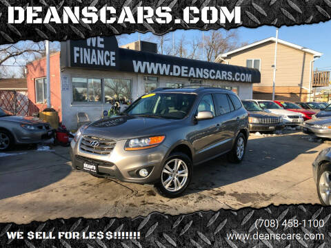2011 Hyundai Santa Fe for sale at DEANSCARS.COM in Bridgeview IL