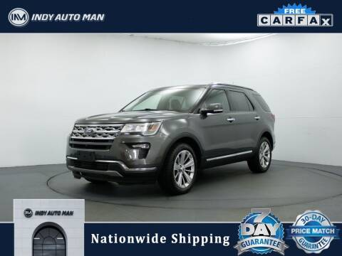 2019 Ford Explorer for sale at INDY AUTO MAN in Indianapolis IN