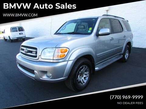 2004 Toyota Sequoia for sale at BMVW Auto Sales in Union City GA