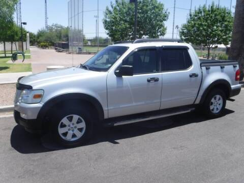2010 Ford Explorer Sport Trac for sale at J & E Auto Sales in Phoenix AZ