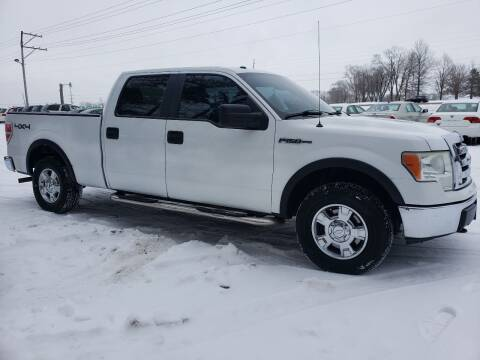 2010 Ford F-150 for sale at Northwoods Auto & Truck Sales in Machesney Park IL
