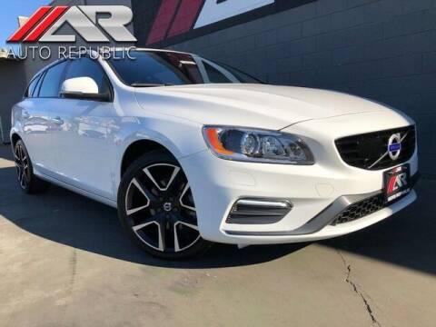 2018 Volvo V60 for sale at Auto Republic Fullerton in Fullerton CA