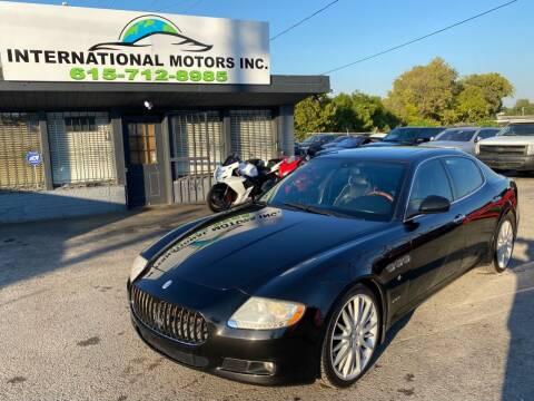 2010 Maserati Quattroporte for sale at International Motors Inc. in Nashville TN