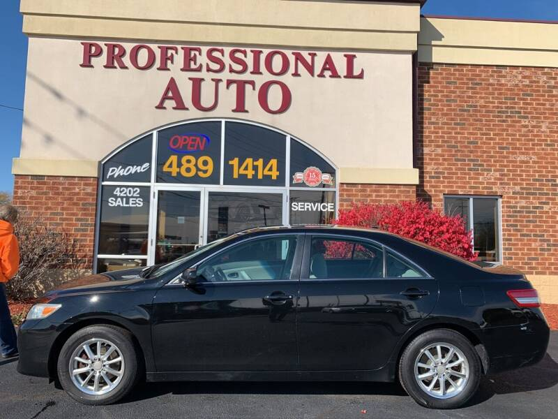 2011 Toyota Camry for sale at Professional Auto Sales & Service in Fort Wayne IN