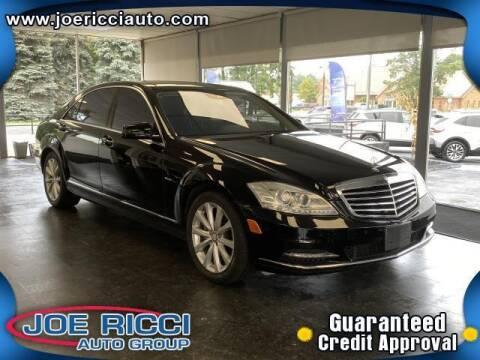 2012 Mercedes-Benz S-Class for sale at JOE RICCI AUTOMOTIVE in Clinton Township MI