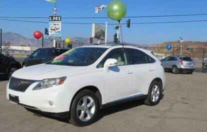 2010 Lexus RX 350 for sale at Luxor Motors Inc in Pacoima CA